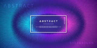 Abstract, dynamic, modern backgrounds for your design elements and others, with purple and light blue gradient color.  stock illustration