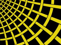 Abstract dynamic yellow bar background Stock Image