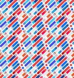 Abstract dynamisch vormen geometrisch patroon vector illustratie