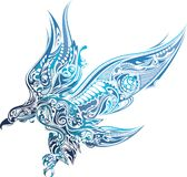 Abstract Eagle Royalty Free Stock Photo