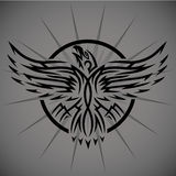 Abstract Eagle Emblem Stock Photography