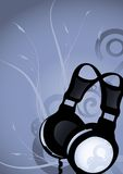Abstract earphones 2 Royalty Free Stock Photo