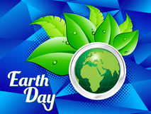 Abstract earth day background Royalty Free Stock Photos