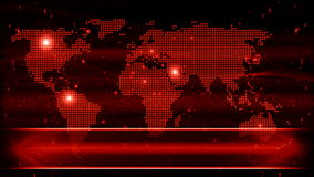 Abstract earth map background for news