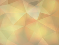 Abstract Earth Tone Triangle Background Illustration Stock Image