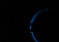 Abstract earth vector space background some Elements of this image furnished by NASA Stock Photo