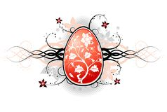 Abstract easter. Element for design, vector illustration Royalty Free Stock Image