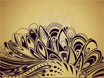 Abstract Easter artistic background Stock Image