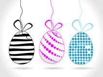 Abstract easter background, eggs Royalty Free Stock Photo