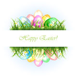 Abstract Easter background Stock Photography