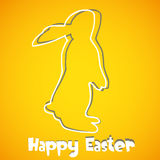 Abstract Easter Bunny background. Abstract Easter Card - illustration stock illustration