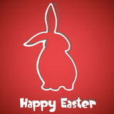 Abstract Easter Bunny background Stock Photography