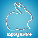Abstract Easter Bunny background Royalty Free Stock Images
