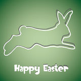 Abstract Easter Bunny background Stock Image