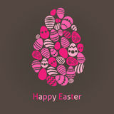 Abstract Easter egg Royalty Free Stock Photos