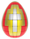Abstract Easter egg Royalty Free Stock Image
