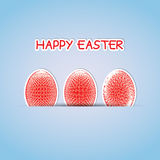 Abstract Easter egg Stock Image
