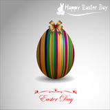Abstract Easter eggs. Stock Images