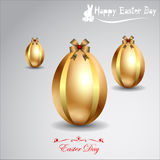 Abstract Easter eggs. Royalty Free Stock Image