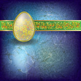 Abstract Easter Illustration Royalty Free Stock Photos