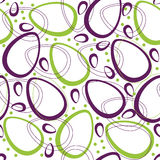 Abstract easter pattern Royalty Free Stock Photos