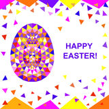 Abstract Easter pattern. Royalty Free Stock Photo