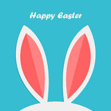 Abstract easter rabbit ears Stock Images
