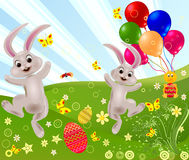 Abstract easter rabbit vector Stock Photography