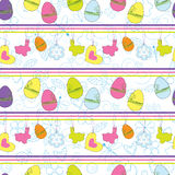 Abstract Easter seamless background Stock Photos