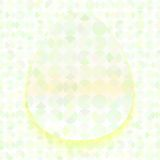 Abstract Easter simple background with paper egg Stock Photo