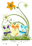 Abstract Easter theme for design Royalty Free Stock Photo