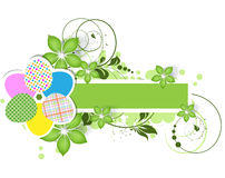 Abstract Easter theme for design Stock Images