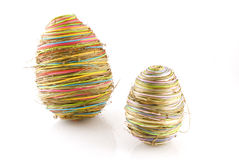 Abstract eastereggs Stock Photo