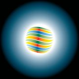 Abstract eclipse Stock Images