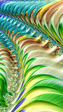 Abstract eco background - digitally generated image. Abstract fractal background - computer-generated image. Digital art: stripes, curves and spirals. Light Stock Images