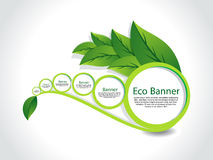 Abstract Eco Banner Set. Vector illustration Royalty Free Stock Image