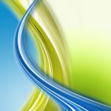 Abstract eco wave design Stock Photos