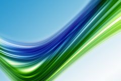 Abstract eco wave design Royalty Free Stock Image