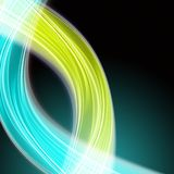 Abstract eco wave design. With space for your text royalty free stock photography