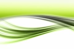 Abstract eco wave design Stock Photo