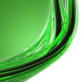 Abstract eco wave design Royalty Free Stock Photo