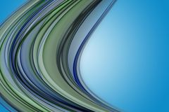 Abstract eco wave design Royalty Free Stock Photos