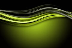 Abstract eco wave design Stock Images
