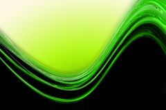 Abstract eco wave design Stock Photography