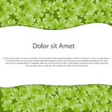 Abstract ecology background for text. Vector illus Stock Photo