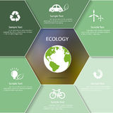 Abstract ecology template. Stock Image