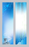 Abstract economic banners Stock Image