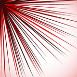Abstract edgy graphic with radial lines spreading from corner. s Stock Image