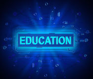 Abstract education concept. Royalty Free Stock Photo