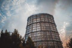 Abstract eenvoudig donker beton als achtergrond Stock Foto's